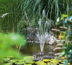 50 W Filtre Solaire Étang Pompe Étang De Jardin De Plongée Élément Pompe À Eau Set Fontaine
