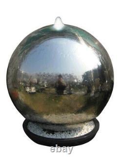 Alger Dispositif D'eau De Fontaine De Sphère En Acier Inoxydable D'alger