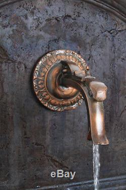 Almeria Fonction Classique Trough Eau Spout Grand Jardin Extérieur Fontaine 102cm