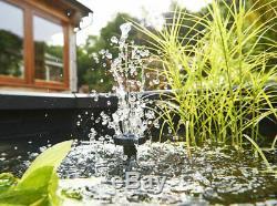Aquarium Extérieur, Étang Instantané Jardin D'eau Avec Fontaine Pompe Pour Terrasse Patio