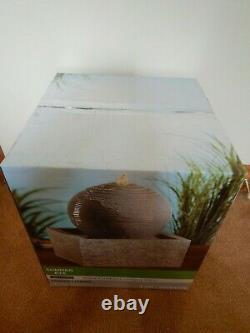 Ashland Indoor Outdoor Garden Water Fountain Flambant Neuf Usps Gratuit Expédition