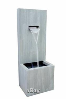 Automne Zinc Contemporain Jardin D'eau Caractéristiques, Fontaine D'extérieur Great Value