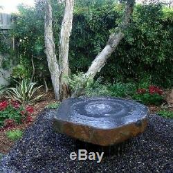 Babbling Basalt Fontaine Fontaine Eau De Basalte Eau De Jardin