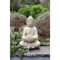 Bouddha Fontaine D'intérieur Ornement Aquatique De La Jardin Extérieur Cadeau