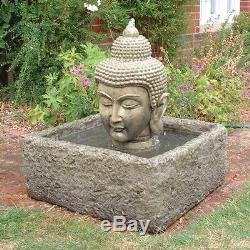 Bouddha Head Fontaine Fontaine De Jardin Eau De Jardin