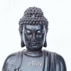 Bouddha Led Lumière Solaire Fontaine D'eau Caractéristiques Pompe Extérieure Décor De Jardin Cadeau