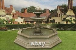 Brecon Piscine Surround Regis Bal Stone Garden Abreuvoirs Feature