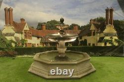 Brecon Pool Surround Large Regis Stone Garden Water Fountain Feature