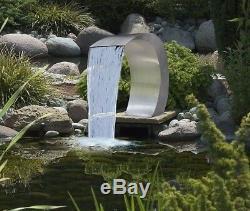 Caractéristique De Jardin De Fontaine D'eau De Piscine De Cascade De Descente Pure D'acier Inoxydable