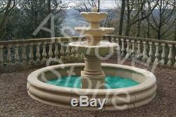 Caractéristiques De L'eau À Grande Pierre Jardin Fontaine De Ashover Pierre