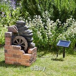 Caractéristiques De L'eau Heywood MILL Fontaine Relaxant Jardin Patio Cascading Rotating