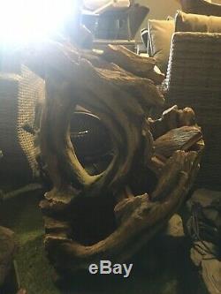 Chutes Willow Knotted Facile Fontaine De Jardin D'eau Caractéristiques Utilisé En Showroom