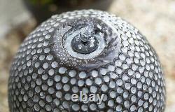 Dapple Cascade Water Feature, Led Light New Grey Concrete Garden Fountain Ball