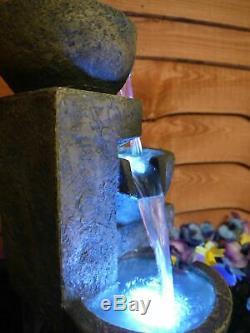 Élément Aquatique, Fontaine Aztèque, Élément Aquatique De Jardin À Énergie Solaire