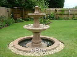 Énorme Gamme De, Statue De Jardin De Fontaine Extérieure Caractéristique De L'eau