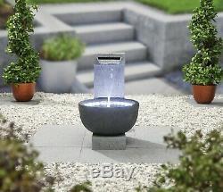 Facile Fontaine Solitary Pour Équipement De Jardin D'eau Comprend La Lumière Led (s)