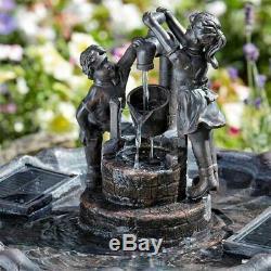 Fontaine À Jet D'eau Solaire Pour Jardin