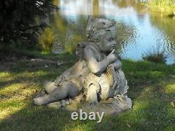 Fontaine Antique D'eau De Jardin En Bronze Fontaine Italienne De Jardin En Bronze C1920