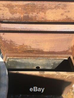 Fontaine Cascade Fontaine Cascade Urbain En Acier Corten Jardin