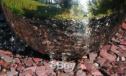 Fontaine Contemporaine En Acier Inoxydable De Cascade De Fontaine D'argent De Cascade