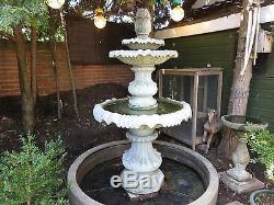 Fontaine D'eau De Jardin