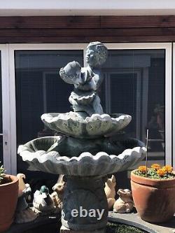Fontaine D'eau De Jardin Pour Bébé Avec Pompe