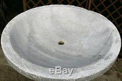 Fontaine D'eau En Marbre Remis En État, Police, Piscine, Bird Bath, Équipement De Jardin, Design