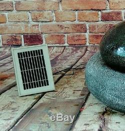 Fontaine D'eau En Pierre Noire Et Grise Solaire En Plein Air Gardenwize Garden