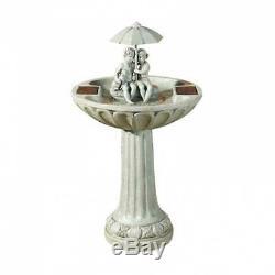 Fontaine D'eau Extérieure De Parapluie De Puissance Solaire