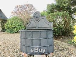 Fontaine De Jardin Caractéristique De L'eau De Baril De Canon Côtelé Par Plomb Plein XL Avec La Pompe