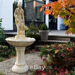 Fontaine De Jardin D'ornement Patio Décor Eau Caractéristiques