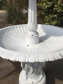 Fontaine En Fonte, Fontaine À 3 Niveaux En Fonte, Centre D'eau