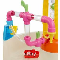 Fontaine Usine Table D'eau Pour Enfants Tout-petit Extérieur Jardin Fun Jouer Taps Pipe