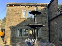 Fonte 3 Palier Fontaine En Fonte 3 Niveaux D'eau Caractéristique
