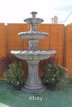 Gamme Énorme De Pierre Extérieure Fontaine D'eau De Jardin 6 Pieds 10