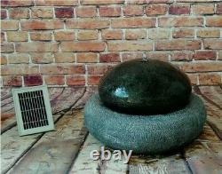 Gardenwize Jardin Extérieur Solar Eco Friendly Pebble Stone Fontaine D'eau