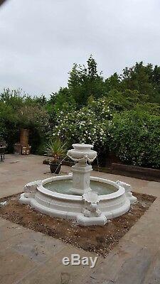Grand Choix De Pierre De Caractéristique D'eau De Fontaine De Jardin En Plein Air De Neopolitan