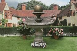 Grand Regis Bal Fontaine En Pierre De Jardin D'ornement D'eau Ornement De Fonction