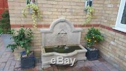Grande Pierre Jardin D'extérieur Tapas Mur D'eau Fontaine Caractéristiques