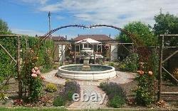 Grande Piscine Romford Surround Lion Urn Stone Garden Eau Fontaine