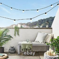 Grey Clair Empilés Led Fountain Garden Water Feature 27cm Plug In Lights4fun