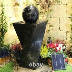 Jour Et Nuit Contemporaine Jardin Eau Caractéristiques, Fontaine D'extérieur Great Value
