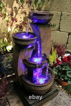 Kanthoros Jardin Contemporain Eau Caractéristiques, Fontaine D'extérieur Great Value