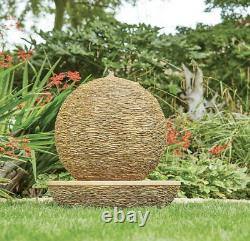 Kelkay Facile Fontaine Cotswold Sun Garden Caractéristique De L'eau Fontaine Effet Pierre