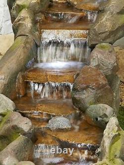 Kelkay Fontaine Facile Bustling Waters Jardin Caractéristiques De L'eau Fontaine + Lumières Led
