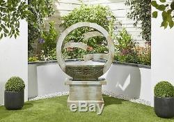Kelkay Solaire Tranquille Déversements D'eau Équipement De Jardin, Fontaine D'extérieur