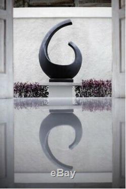 La Fontaine D'eau En Pierre De Jardin De Noosa 1.1m Comporte La Décoration Extérieure À Extrémité Élevé