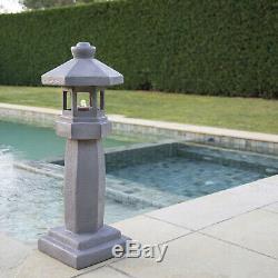 Lanterne Chinoise / Pagode Led Fontaine D'eau Caractéristique Intérieur Extérieur Jardin
