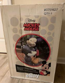 Mickey Mouse Eau Potable Fontaine 25 Patio Jardin Lourd Polyresin Disney