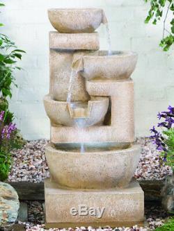 Mousseux Bols Kelkay Facile Fontaine De Jardin D'eau Caractéristiques 4717l Nouveau